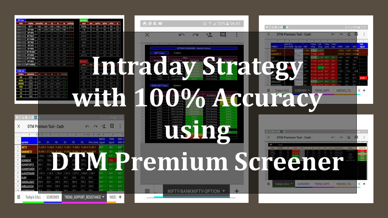 real time stock screener nse – DailyTradeMantra