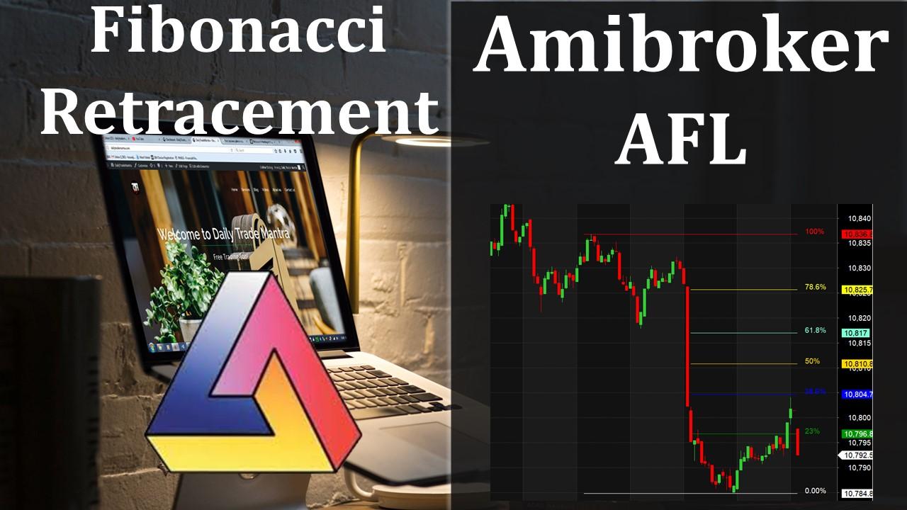 Fibonacci Retracement AFL for Amibroker